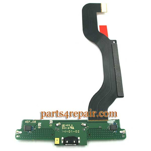 Dock Charging Flex Cable for Nokia Lumia 1520 from www.parts4repair.com