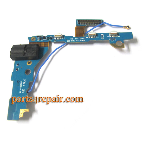 Earphone Jack Flex Cable for Samsung Galaxy S4 ZOOM from www.parts4repair.com