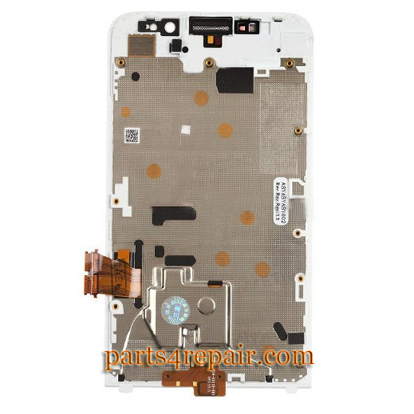 You can offer Complete Screen Assembly with Front Bezel for BlackBerry Z30 -White