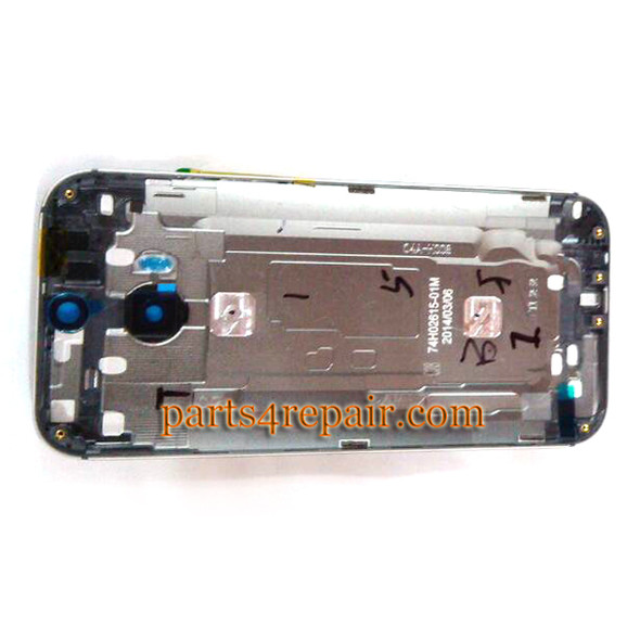 We can offer Back Cover with Side Keys for HTC One M8 -White