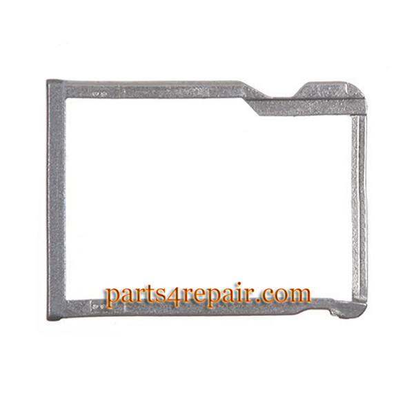 Micro SD Card Tray for HTC One M8 -Gray from www.parts4repair.com
