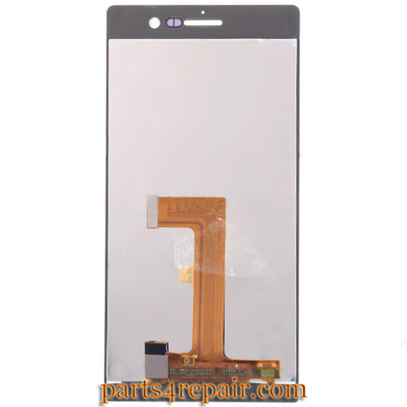We can offer Complete Screen Assembly for Huawei Ascend P7 -White
