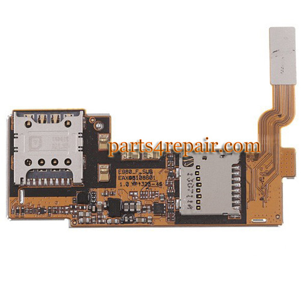 SIM Connector Board for LG Optimus G Pro E980 from www.parts4repair.com