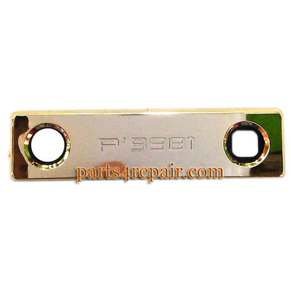 Camera Lens for BlackBerry Porsche Design P'9981 -Gold from www.parts4repair.com