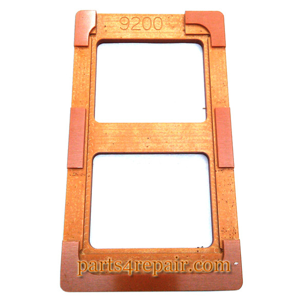 We can offer UV Glue (LOCA) Alignment Mould for Samsung Galaxy Mega 6.3 I9200 LCD Glass