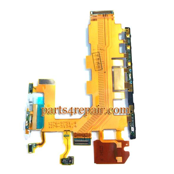 Side Key Flex Cable for Sony Xperia Z2 L50W