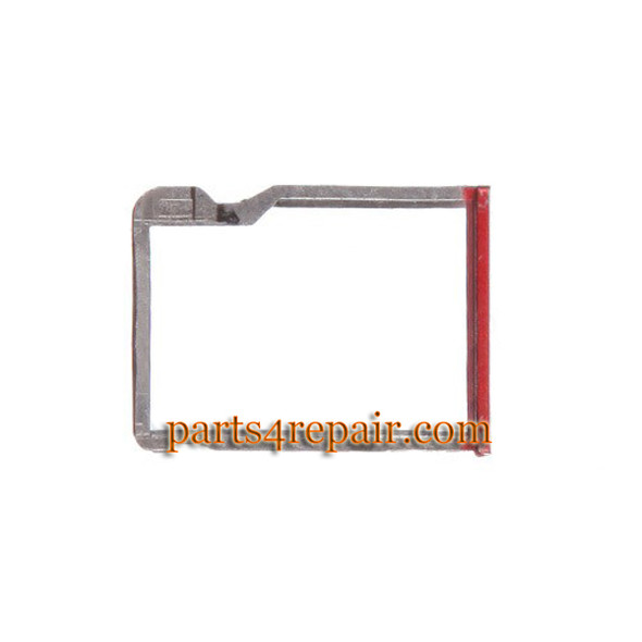 Micro SD Card Tray for HTC One M8 -Red from www.parts4repair.com
