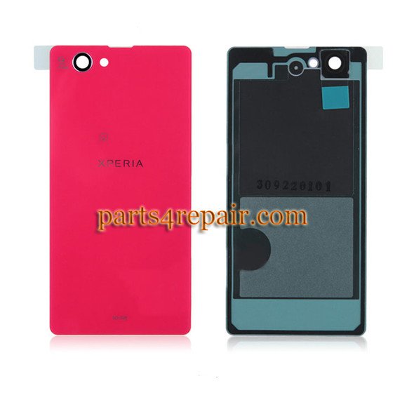 Back Cover for Sony Xperia Z1 Compact mini -Pink from www.parts4repair.com