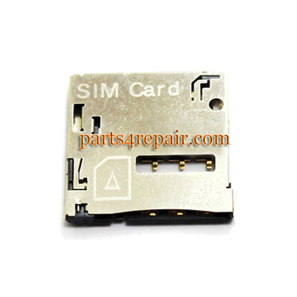 SIM Contact Connector for HTC Desire 600 606W from www.parts4repair.com