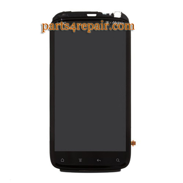 Complete Screen Assembly with Bezel for HTC Sensation 4G (T-Mobile) from www.parts4repair.com