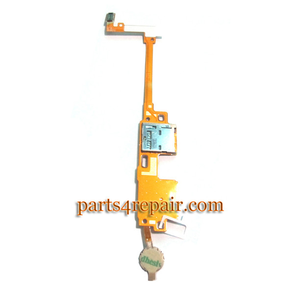 SIM Holder Flex Cable for Samsung Galaxy Note 10.1 P600 (2014 Edition) from www.parts4repair.com