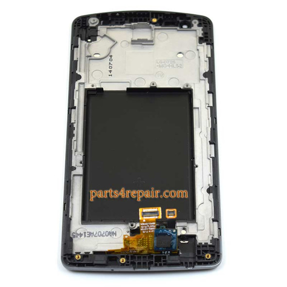 Complete Screen Assembly with Bezel for LG G3 S (G3 mini) -Black