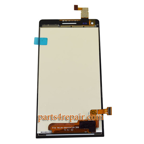 We cab offer Complete Screen Assembly for Huawei Ascend G6 -Black