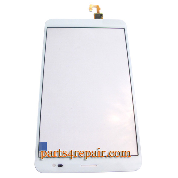 """7"""" Touch Screen Digitizer for Huawei MediaPad X1 -White from www.parts4repair.com"""