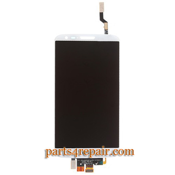 Complete Screen Assembly for LG G2 F320 F320S F320L(for Korea) -White