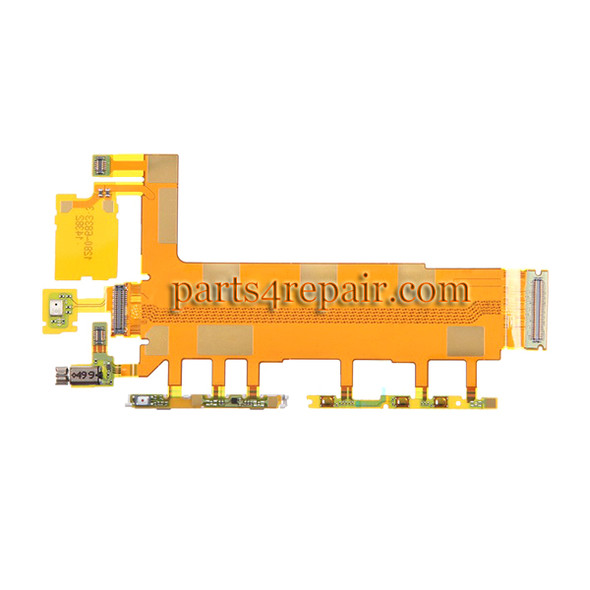 Motherboard Flex Cable for Sony Xperia Z3 from www.parts4repair.com