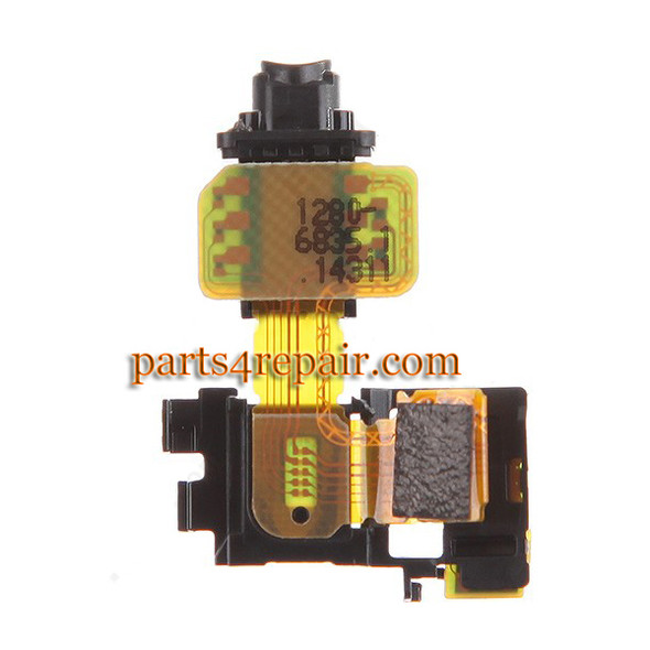 Earphone Jack Flex Cable for Sony Xperia Z3 from www.parts4repair.com