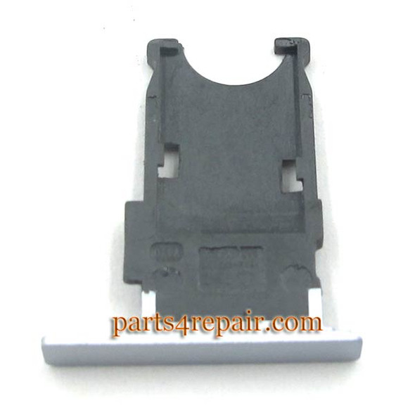 SIM Tray for Nokia Lumia Icon 929 930 -Silver from www.parts4repair.com