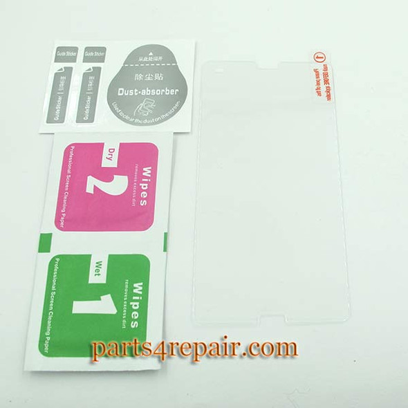 Premium Tempered Glass Screen Protector for Sony Xperia Z3 Compact