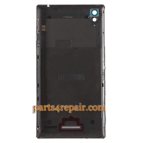 We can offer Back Cover with Side Keys for Sony Xperia T3 -Black