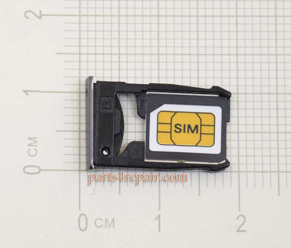 SIM Tray for Motorola Moto X2 XT1096 XT1097 XT1095 -Black