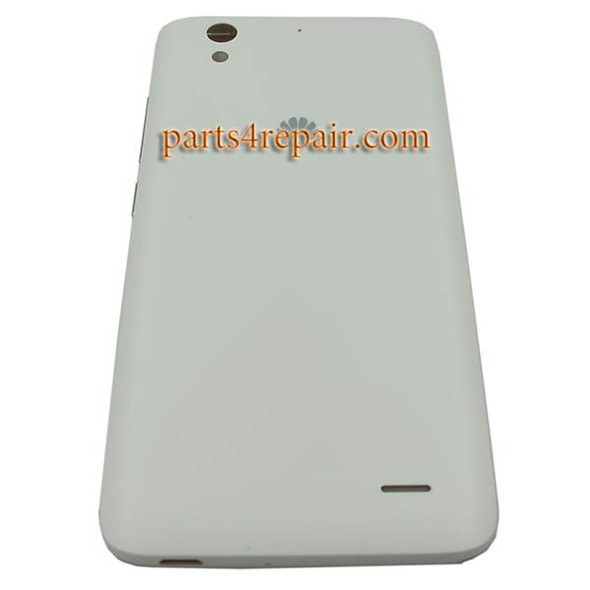 Back Cover with Side Keys for Huawei Ascend G630 -White