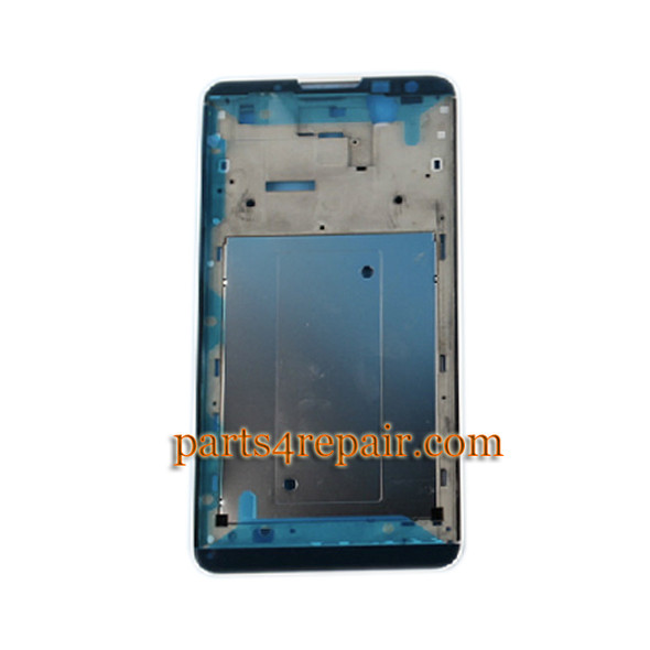 Front Housing Cover for Huawei Ascend Mate 2 MT2 -White from www.parts4repair.com