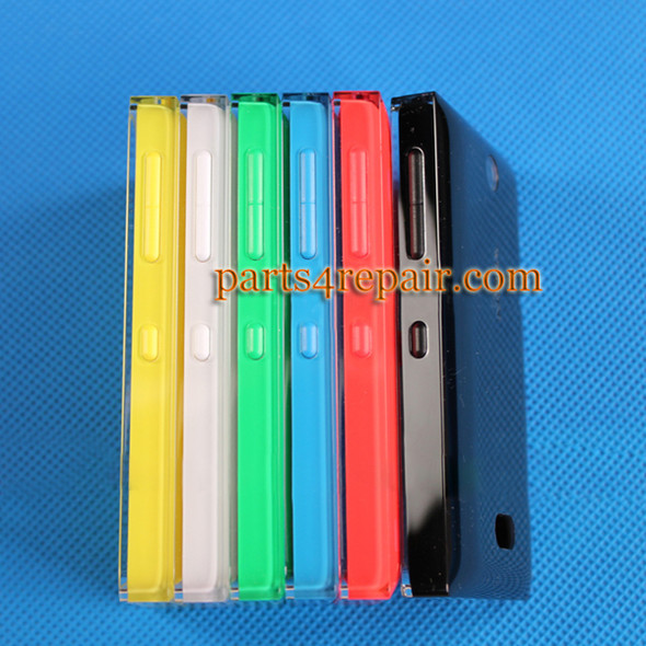 We can offer Back Cover with Side Keys for Nokia Asha 500