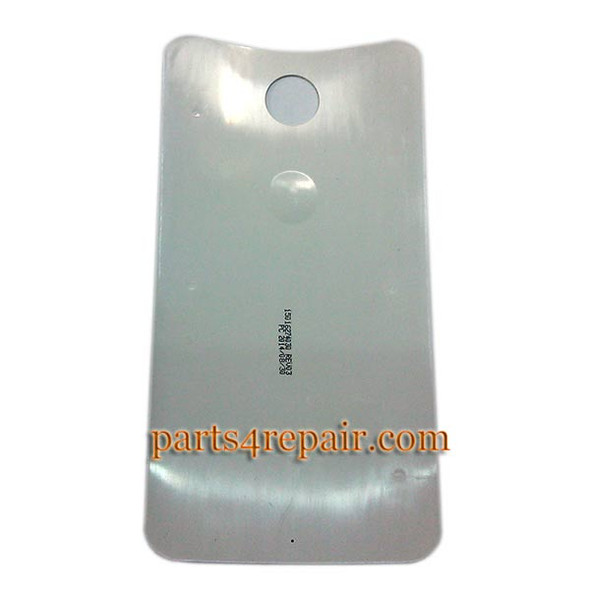 Back Cover for Motorola Nexus 6 -White from www.parts4repair.com