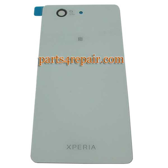 Generic Back Cover for Sony Xperia Z3 Compact mini -White