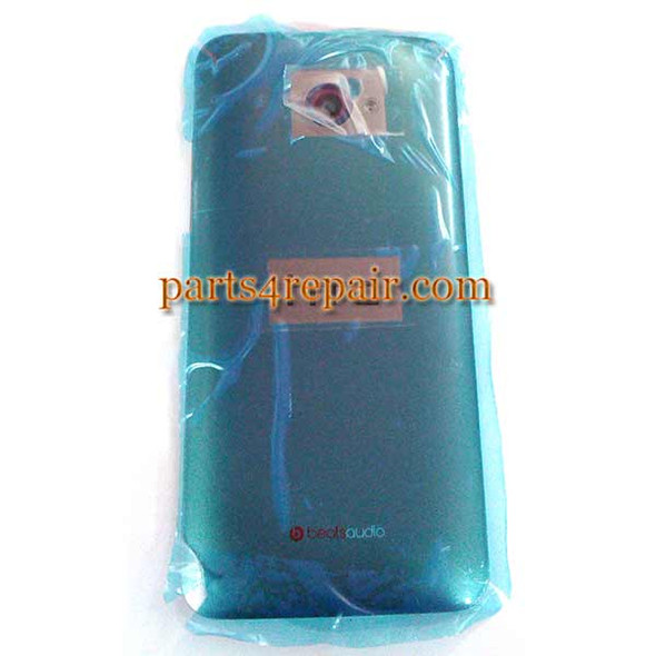 Back Housing Cover with Side Keys for HTC Butterfly S -Gray