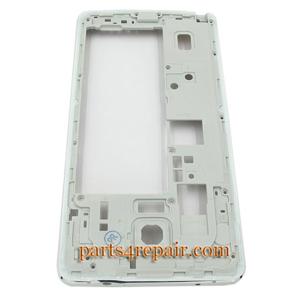 Middle Cover without small parts for Samsung Galaxy Note 4 -White