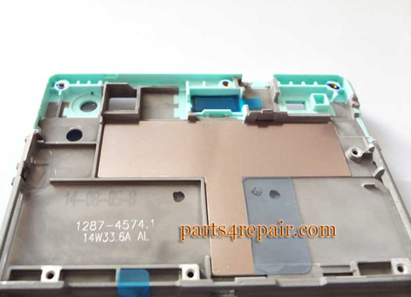 Front Housing Cover for Sony Xperia C3 S55 -Green