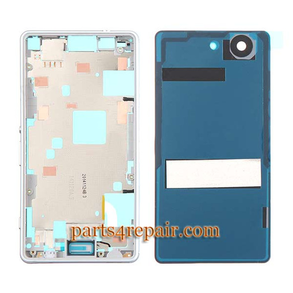 We can offer Full Housing Cover for Sony Xperia Z3 Compact mini -White