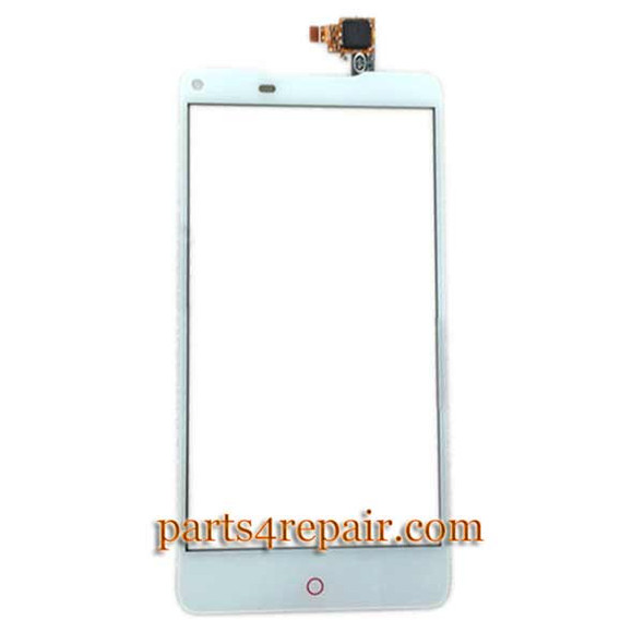 Touch Screen Digitizer for ZTE Nubia Z5S NX503A -White from www.parts4repair.com