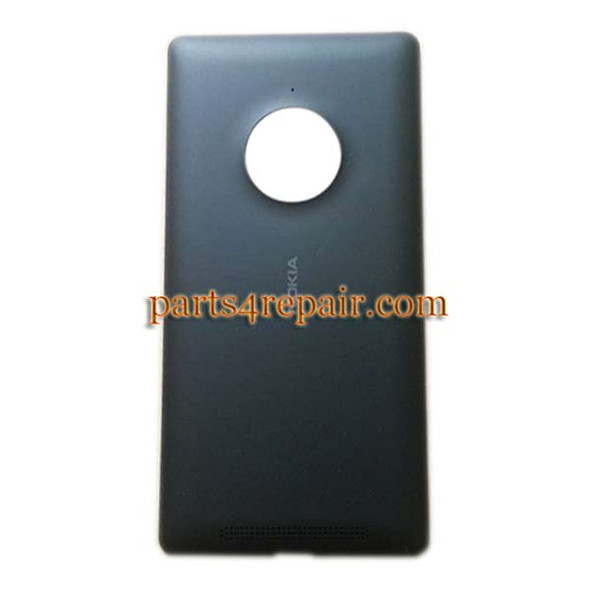 Back Cover with Wireless Charging Coil for Nokia Lumia 830 -Black from www.parts4repair.com