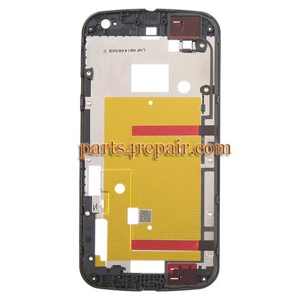 We can offer Front Housing Cover for Motorola Moto G2 -Black