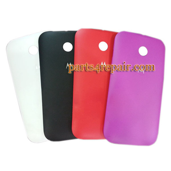 Back Cover for Motorola Moto E XT1021 -White from www.parts4repair.com