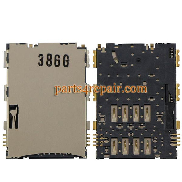 SIM Contact Connector for Samsung P6200 Galaxy Tab 7.0 Plus from www.parts4repair.com