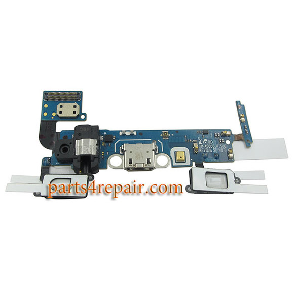 Dock Charging Flex Cable for Samsung Galaxy A5 SM-A500F from www.parts4repair.com