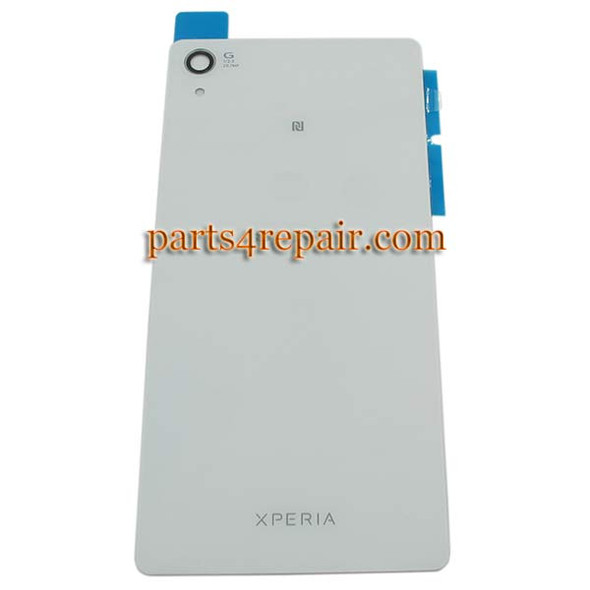 Generic Back Cover with NFC for Sony Xperia Z2 -White