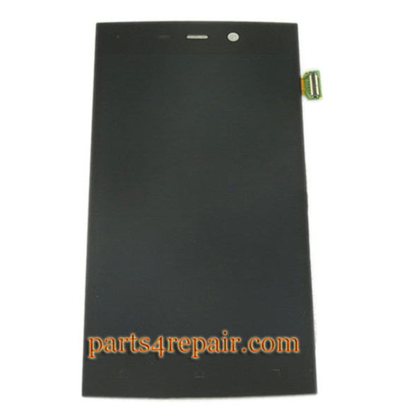 Complete Screen Assembly with Bezel for Gionee Elife S5.5 -Black from www.parts4repair.com