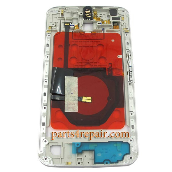 We can offer Middle Plate for Motorola Nexus 6 -White