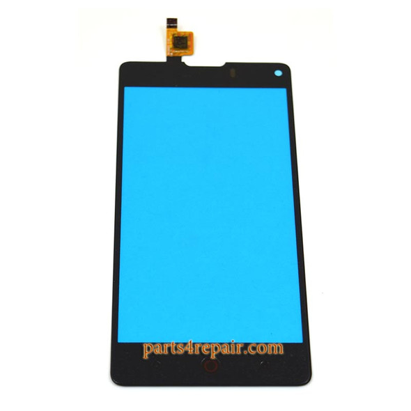 you can find touch screen digitizer for ZTE Z5S mini NK403A in www.parts4repair.com