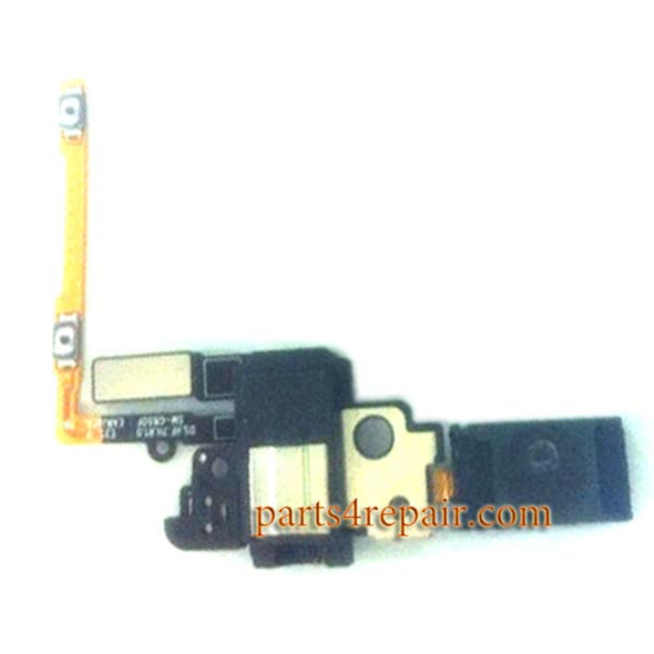 Earpiece Speaker Flex Cable for Samsung Galaxy Alpha G850F from www.parts4repair.com