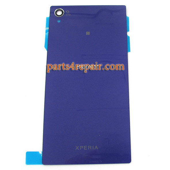 Generic Back Cover with NFC for Sony Xperia Z1 L39H -Purple