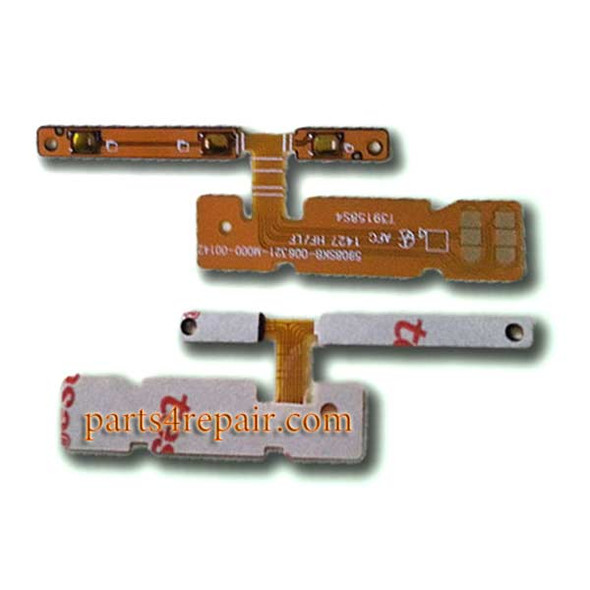 Side Key Flex Cable for Sony Xperia E3 from www.parts4repair.com