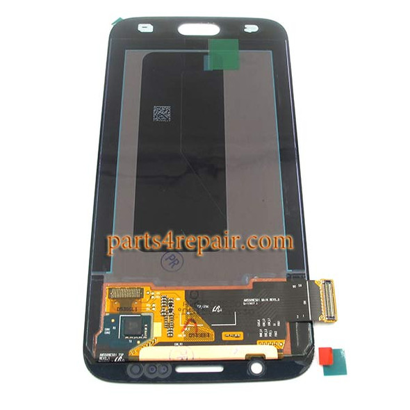 Complete Screen Assembly for Samsung Galaxy S6 All Versions -Black
