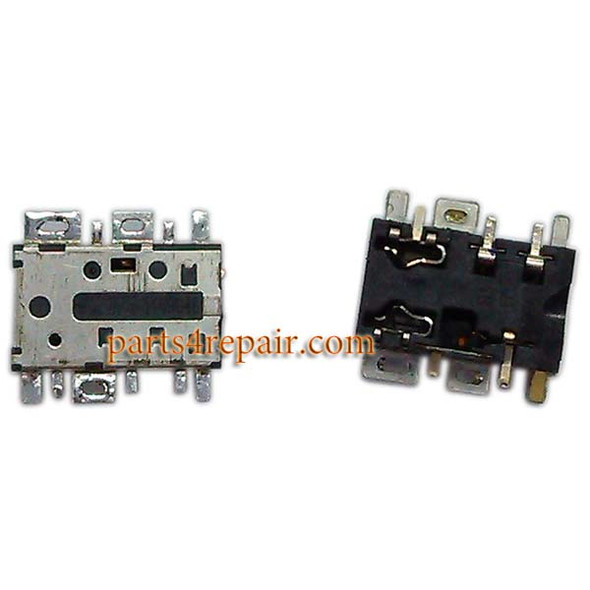 Earphone Jack Plug for Nokia Lumia 530 from www.parts4repair.com