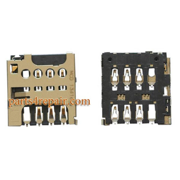 SIM Card Reader for Sony Xperia M C1905 from www.parts4repair.com